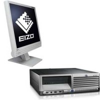 Calculatoare second hand  HP cu monitor lcd 19