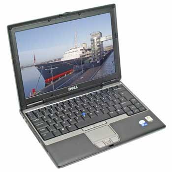 Laptop second Dell Latitude D420 Core Duo U7600, 1g ddr2 , 80gb